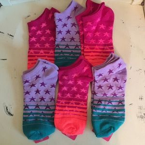 6 Pair of Ankle Socks with Stars 🌟